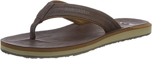 Quiksilver Herren Carver Nubuck - Sandals for Men Zehentrenner, Braun...
