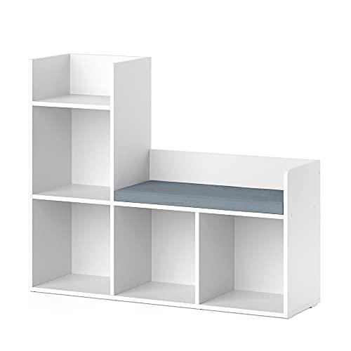 Vicco Kinderregal Sitzbank Bücherregal Luigi Spielzeugregal für...