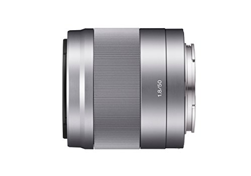 Sony SEL-50F18 Porträt-Objektiv (Festbrennweite, 50 mm, F1.8, APS-C,...