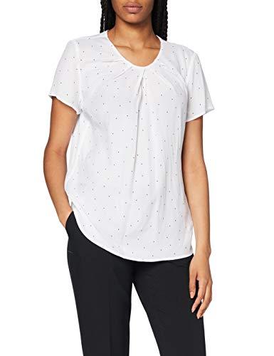 Seidensticker Damen Shirtbluse Kurzarm gepunktet Bluse – Fashion...