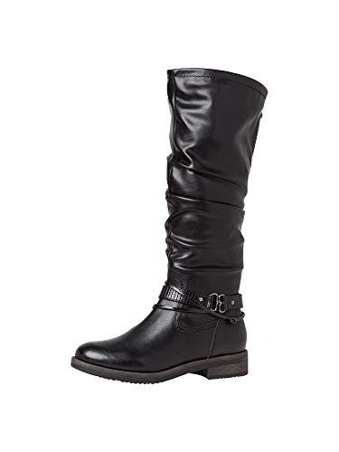 Tamaris Damen Stiefel 1-1-25548-25 001 normal Größe: 39 EU