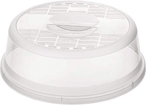 Rotho Basic Mikrowellenabdeckhaube, Kunststoff, Transparent,...