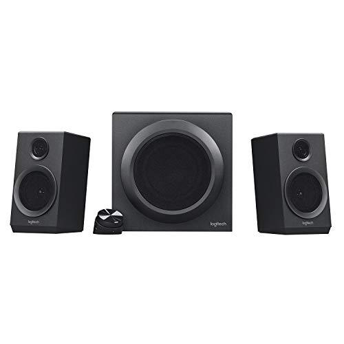 Logitech Z333 2.1 Lautsprecher-System mit Subwoofer, Satter Bass, 80...