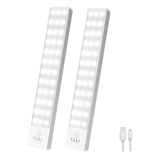 Schrankbeleuchtung Led mit Bewegungsmelder 2 Stück Schranklicht...