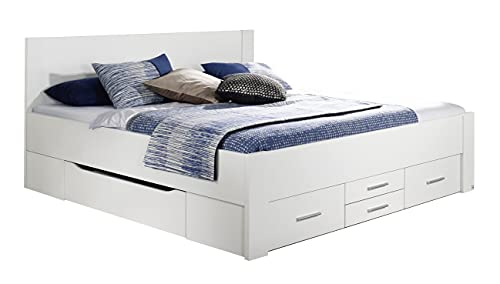 Rauch Möbel Isotta Bett Doppelbett Stauraumbett mit Schubladen, in...