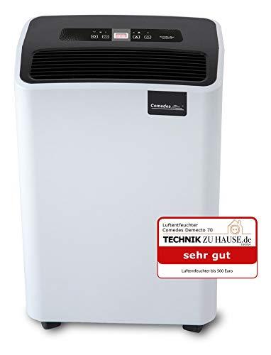 Comedes Luftentfeuchter Bautrockner Demecto 70 (max. 75 Liter / 24h)...