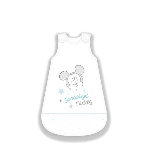 Herding Disney's Mickey Mouse Baby-Schlafsack, Baumwolle, weiß, 110...