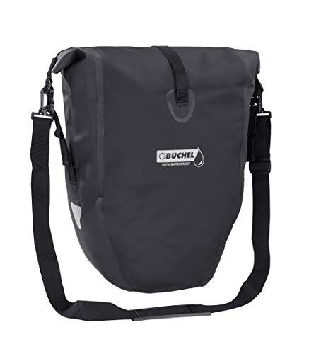Büchel Fahrradtasche für Gepäckträger , 100 Prozent wasserdicht,...