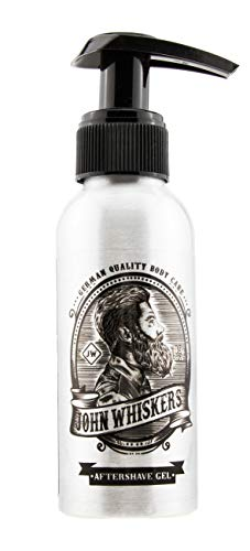 John Whiskers Aftershave Gel for Men - Made in Germany - mit Aloe Vera...