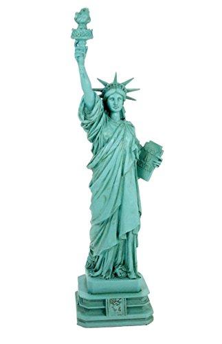 Veronese Design Freiheitsstatue Statue of Liberty 32 cm grün New York...