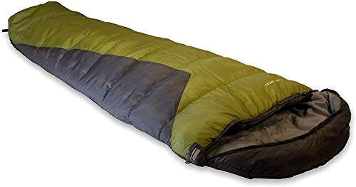 High Peak Schlafsack TR 300, extra breit, 3-4 Jahreszeiten, Temperatur...