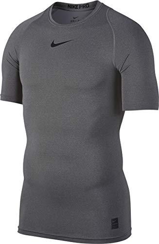 Nike Herren Cool Compression Kurzarm T-Shirt, schwarz, Gr. XL