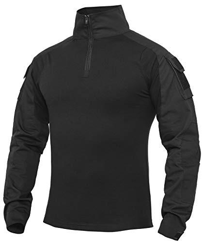 XKTTAC Herren Taktisches Hemd Outdoor Shirt Kampfshirt für Militär...