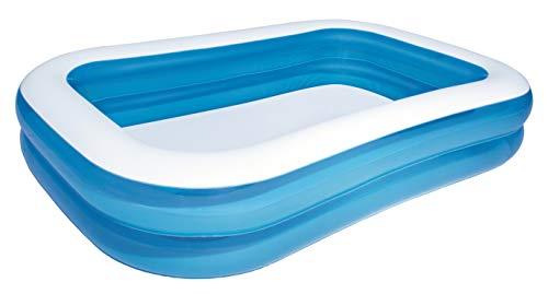 Bestway Family Pool, Pool rechteckig für Kinder, leicht aufbaubar,...