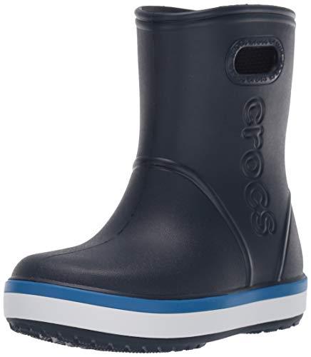 Crocs Unisex-Kinder Crocband Rain Boot K Gummistiefel, Blau...