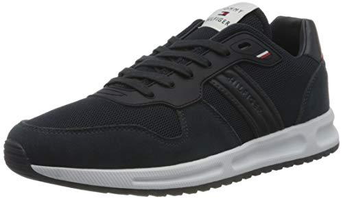 Tommy Hilfiger Herren MODERN Corporate Mix Runner Sneaker,...