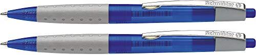 Schneider Loox Druckkugelschreiber (Soft-Grip-Zone, dokumentenechte...