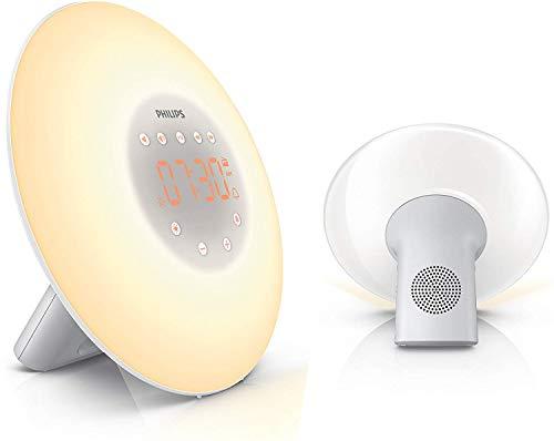 Philips Wake-up Light, Aufwachen mit Licht, 2 natürlichen Wecktöne...