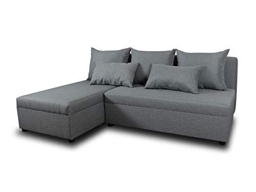 Ecksofa Pono mit Schlaffunktion - Couchgarnitur, Eckcouch, Sofa,...