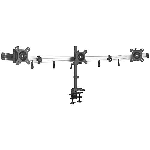 HFTEK 3-Fach-Monitorarm - Tischhalterung für Bildschirme von 15 –...