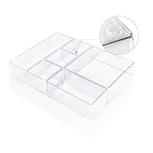 Lilly Things® ANTIRUTSCH Schubladen Ordnungssystem (6er Set,...