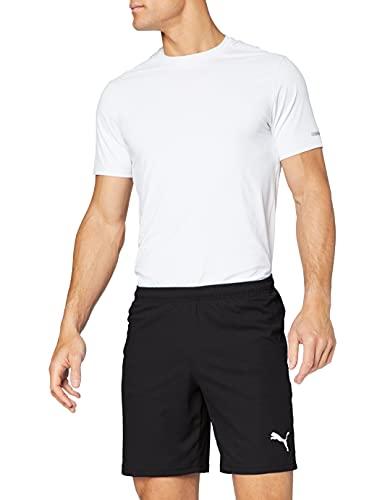 PUMA Herren Shorts Liga Core, PUMA Black/PUMA White, L, 703436, 703436...