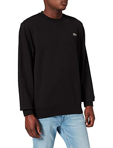 Lacoste Herren SH1505 Sweatshirt, Schwarz, 7 FR / 2XL US