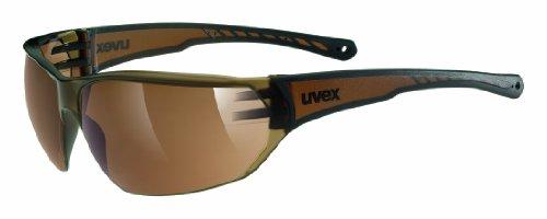 uvex Unisex– Erwachsene Sonnenbrille Sportstyle 204 Sportbrille,...