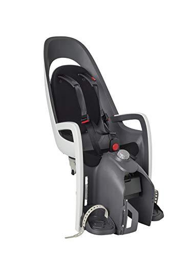 HAMAX Caress Fahrradsitz Kind hinten schwarz Gepäckträgermontage...