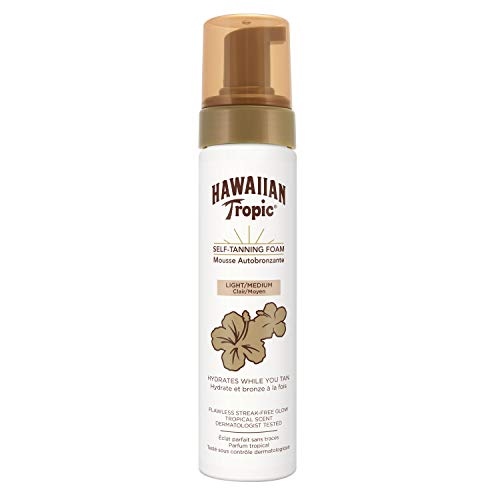 Hawaiian Tropic Self-Tanning-Foam light/medium, 200 ml