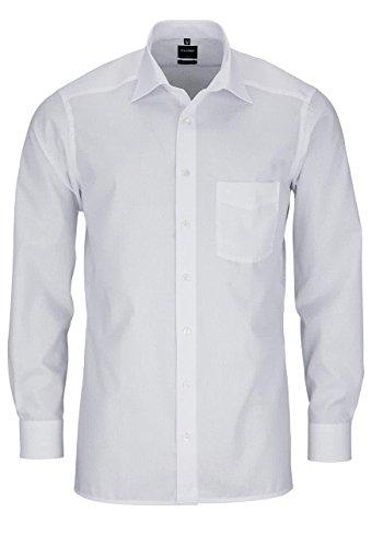 Modern Fit Hemd Langarm m New Kent Kragen 41 [Weiß]