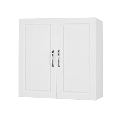SoBuy® FRG231-W Hängeschrank mit Zwei Türen Wandschrank Badschrank...