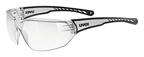 uvex Unisex– Erwachsene, sportstyle 204 Sportbrille, clear/clear,...