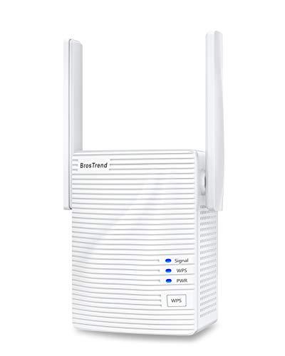 BrosTrend 1200 Mbit/s WLAN Repeater WLAN Verstärker für zu Hause,...