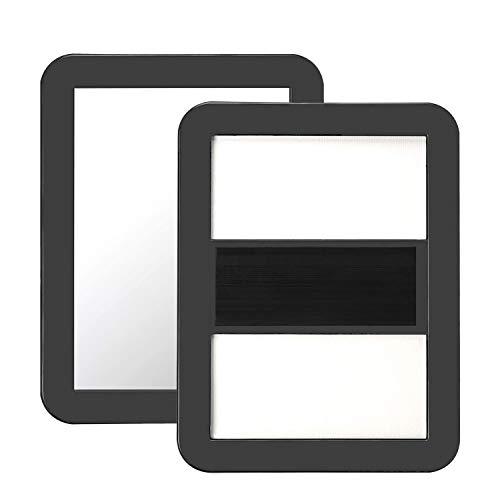 BaiJ Magnet Spiegel für Schulspind,Kleiner Magnetspiegel für...
