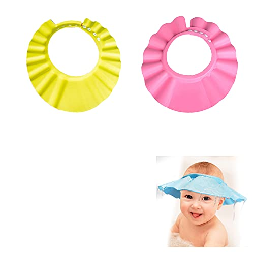YANGJI 2Pcs Baby Shampoo Cap,Haare waschen ohne Tränen,Einstellbare...
