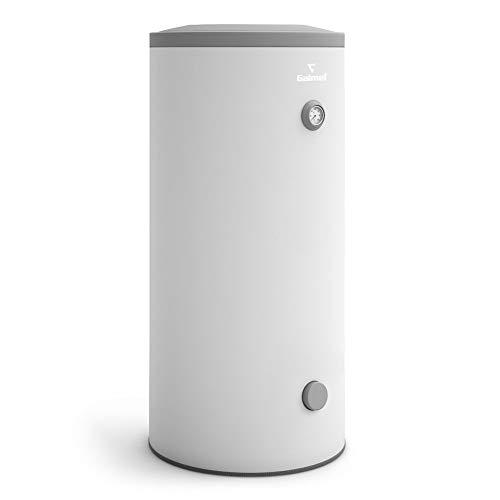 120 Liter Warmwasserspeicher mit 1 Wärmetauscher Farbe grau