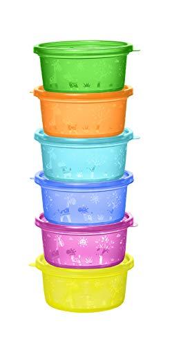 nip Snackbox für Kleinkinder und Babys, mit niedlichem Motiv,...
