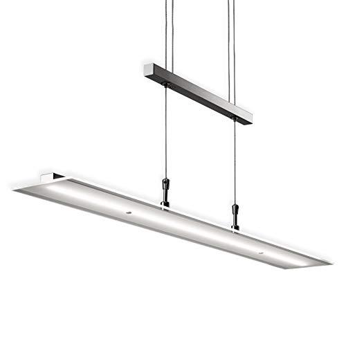 B.K.Licht I Dimmbare LED Pendelleuchte I 20W LED Platine mit 1600lm I...