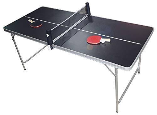 PingPong-Classics Klappbare Tischtennisplatte, HBT: 180 x80 x76 cm,...
