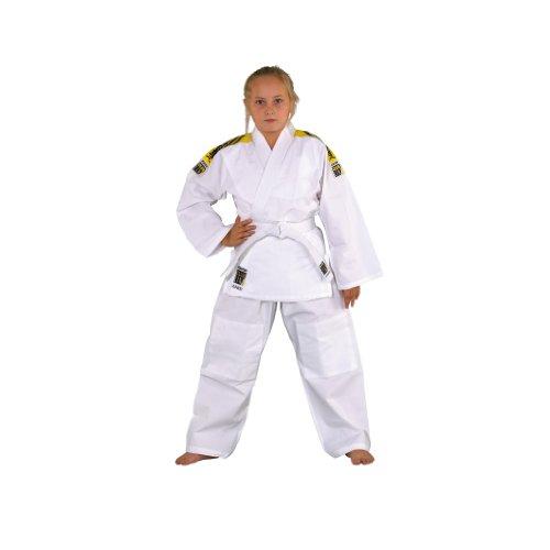 KWON Kinder Judoanzug Junior, weiß, 130, 551302130
