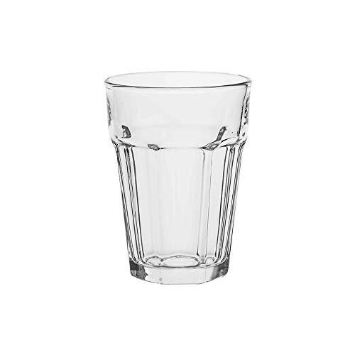 AmazonCommercial Allzweck-Trinkglas, 372,6ml, 12-teiliges Set