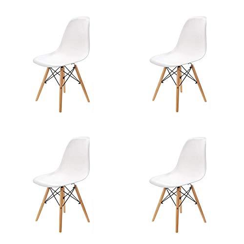 GrandCA HOME Set von 4 Stuhl,Esszimmerstühle,Wohnzimmerstuhl,...