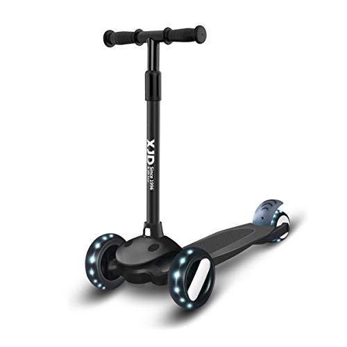 XJD Kinderscooter Kinderroller mit 3 LED Rädern Kickboard für...