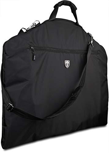 TRAVANDO ® Anzugtasche mit 15' Laptopfach und Schultergurt -...