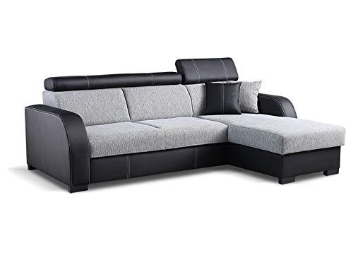 Couch mit Schlaffunktion Eckcouch Ecksofa Polstergarnitur...