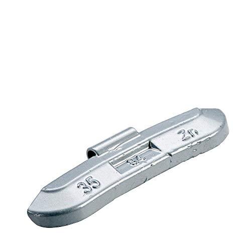 PERFECT EQUIPMENT Auswuchtgewichte Stahlfelgen Silber beschichtet 35g...