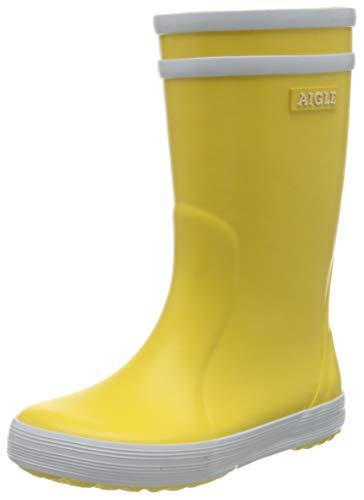Aigle Lolly Pop Unisex-Kinder Gummistiefel Gelb (Gelb / Weiß 3) 25 EU