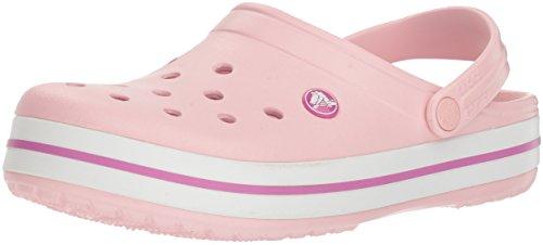 Crocs Unisex-Erwachsene Crocband Clogs, Pearl Pink/Wild Orchid, 39/40...