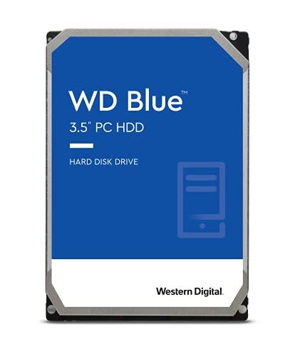 WD Blue 2TB Interne Festplatte (8,9 cm (3,5 Zoll)), SATA 6 Gb/s BULK...